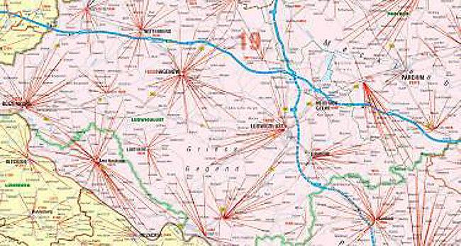 Postleitzahlen Karte Brandenburg.Bacher Postleitzahlen Karte Nord Ost Posterkarte Beschichtet Buch