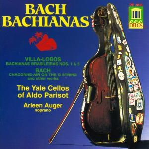 Bachianas Brasileiras 1+5, Yale Cellos, Parisot, Auger