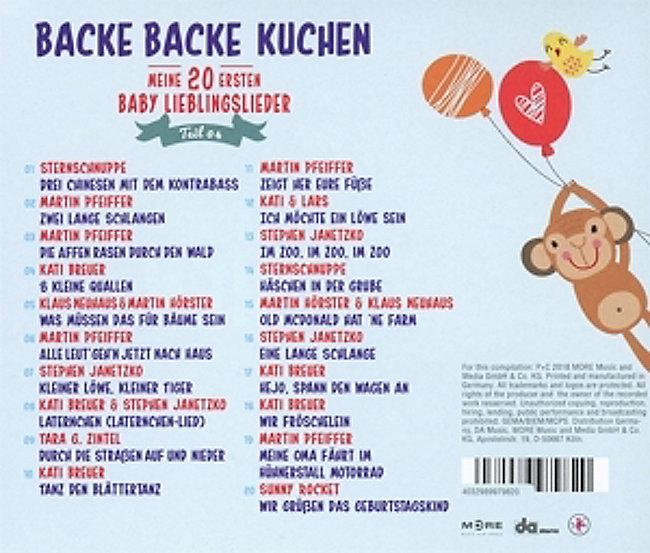 Backe Backe Kuchen Teil 4 Meine 20 Ersten Baby Li Weltbild De
