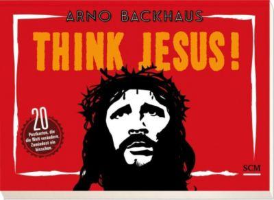 Backhaus, A: Think Jesus/20 Postktn., Arno Backhaus