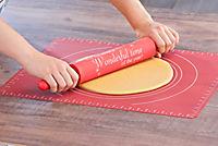 Backmatte und großer Teigroller 2er Set - Produktdetailbild 1