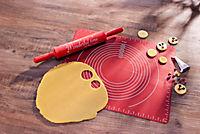 Backmatte und großer Teigroller 2er Set - Produktdetailbild 2