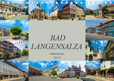Bad Langensalza Impressionen (Tischkalender 2019 DIN A5 quer), Dirk Meutzner