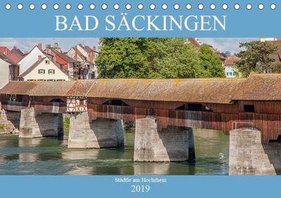 Bad Säckingen - Städtle am Hochrhein (Tischkalender 2019 DIN A5 quer), Liselotte Brunner-Klaus