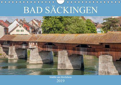 Bad Säckingen - Städtle am Hochrhein (Wandkalender 2019 DIN A4 quer), Liselotte Brunner-Klaus
