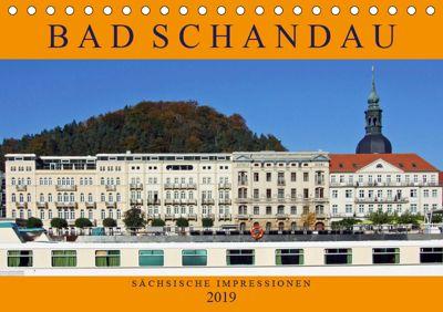 Bad Schandau - Sächsische Impressionen (Tischkalender 2019 DIN A5 quer), Holger Felix