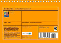 Bad Schandau - Sächsische Impressionen (Tischkalender 2019 DIN A5 quer) - Produktdetailbild 13