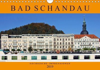 Bad Schandau - Sächsische Impressionen (Wandkalender 2019 DIN A4 quer), Holger Felix