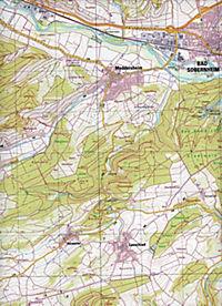 Bad Sobernheim 1 : 25 000 - Produktdetailbild 2