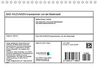 BAD WILDUNGEN - Impressionen von der Bäderstadt (Tischkalender 2019 DIN A5 quer) - Produktdetailbild 13