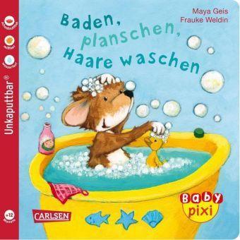 Baden, planschen, Haare waschen, Maya Geis