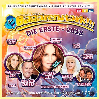 Bääärenstark 2018 - Die Erste (2 CDs), Diverse Interpreten