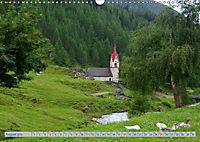 Bäche und Seen in Alpen und Dolomiten (Wandkalender 2019 DIN A3 quer) - Produktdetailbild 8