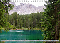Bäche und Seen in Alpen und Dolomiten (Wandkalender 2019 DIN A4 quer) - Produktdetailbild 2