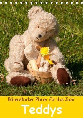 Bärenstarker Planer für das Jahr - Teddys (Tischkalender 2019 DIN A5 hoch), Meike Bölts