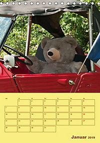 Bärenstarker Planer für das Jahr - Teddys (Tischkalender 2019 DIN A5 hoch) - Produktdetailbild 1