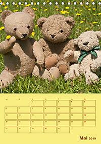 Bärenstarker Planer für das Jahr - Teddys (Tischkalender 2019 DIN A5 hoch) - Produktdetailbild 5