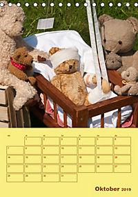 Bärenstarker Planer für das Jahr - Teddys (Tischkalender 2019 DIN A5 hoch) - Produktdetailbild 10