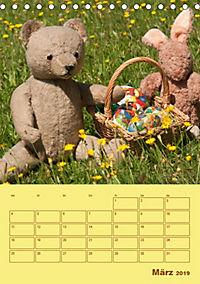 Bärenstarker Planer für das Jahr - Teddys (Tischkalender 2019 DIN A5 hoch) - Produktdetailbild 3