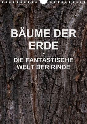 BÄUME DER ERDE - DIE FANTASTISCHE WELT DER RINDE (Wandkalender 2019 DIN A4 hoch), Martin Schreiter