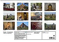 Bagan - Einzigartiges Juwel in Myanmar (Wandkalender 2019 DIN A2 quer) - Produktdetailbild 13