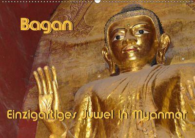 Bagan - Einzigartiges Juwel in Myanmar (Wandkalender 2019 DIN A2 quer), Hans-Werner Scheller