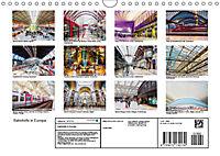 Bahnhöfe in Europa (Wandkalender 2019 DIN A4 quer) - Produktdetailbild 13