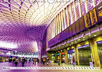 Bahnhöfe in Europa (Wandkalender 2019 DIN A4 quer) - Produktdetailbild 3