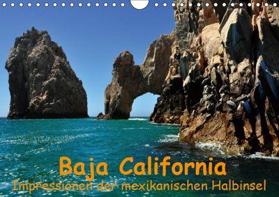 Baja California - Impressionen der mexikanischen Halbinsel (Wandkalender 2019 DIN A4 quer), Ulrike Lindner