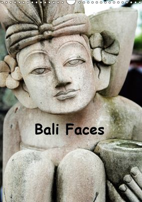 Bali Faces (Wall Calendar 2019 DIN A3 Portrait), Nell Jones