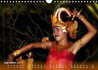Balinesische Tänze, eindrucksvolles traditionelles Ritual (Wandkalender 2019 DIN A4 quer) - Produktdetailbild 9