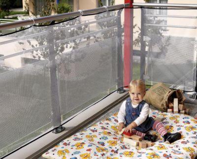 Balkonschutz Netz
