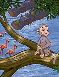 Ballerina Monkey - Produktdetailbild 1