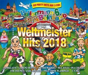 Ballermann 6 Balneario Präs. Die Weltmeister Hits, Diverse Interpreten