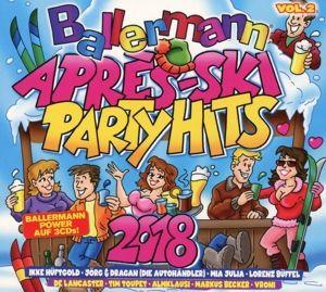 Ballermann Apres Ski Party Hits 2018, Diverse Interpreten