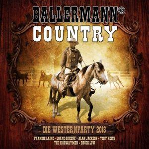 Ballermann Country Die Westernparty 2018, Diverse Interpreten