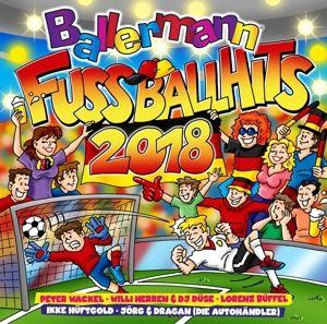 Ballermann Fußball Hits 2018, Diverse Interpreten