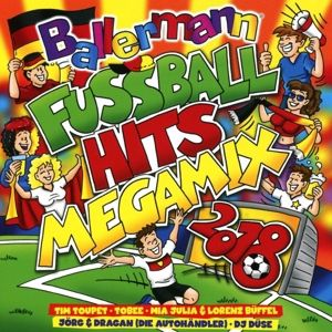 Ballermann Fußball Hits Megamix 2018, Various