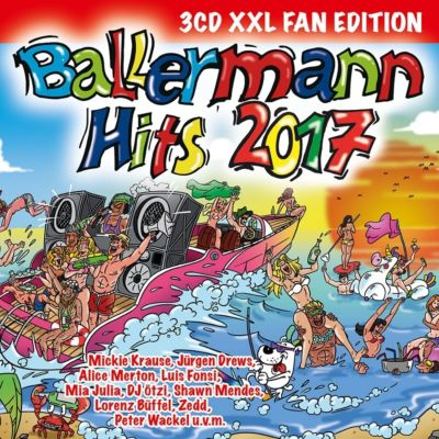 Ballermann Hits 2017 (XXL Fan Edition, 3 CDs), Various