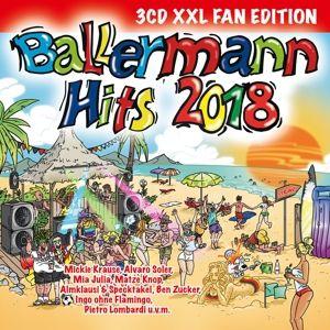 Ballermann Hits 2018 (XXL Fan Edition, 3 CDs), Various