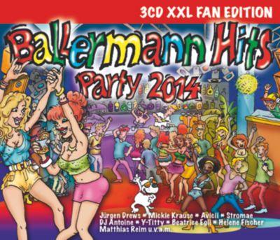 Ballermann Hits Party 2014 (3CD XXL Fan Edition), Diverse Interpreten