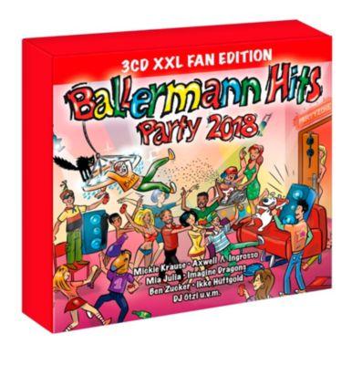 Ballermann Hits Party 2018 (XXL Fan Edition, 3 CDs), Various