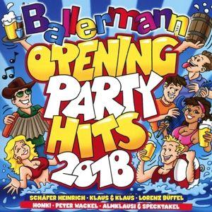 Ballermann Opening Party Hits 2018, Diverse Interpreten