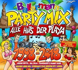 Ballermann Party Mix 1998-2018, Diverse Interpreten