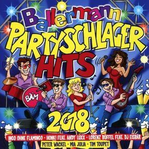 Ballermann Partyschlager Hits 2018, Diverse Interpreten