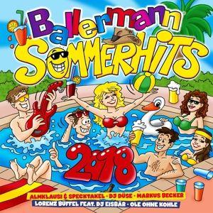 Ballermann Sommer Hits 2018, Diverse Interpreten