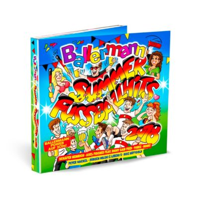 Ballermann Summer Fussballhits (3 CDs), Various