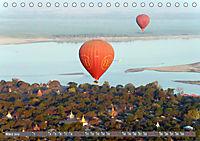 Ballons über Bagan (Tischkalender 2019 DIN A5 quer) - Produktdetailbild 3