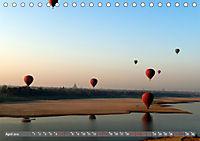 Ballons über Bagan (Tischkalender 2019 DIN A5 quer) - Produktdetailbild 4