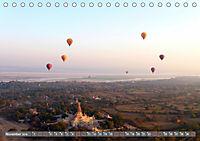 Ballons über Bagan (Tischkalender 2019 DIN A5 quer) - Produktdetailbild 11